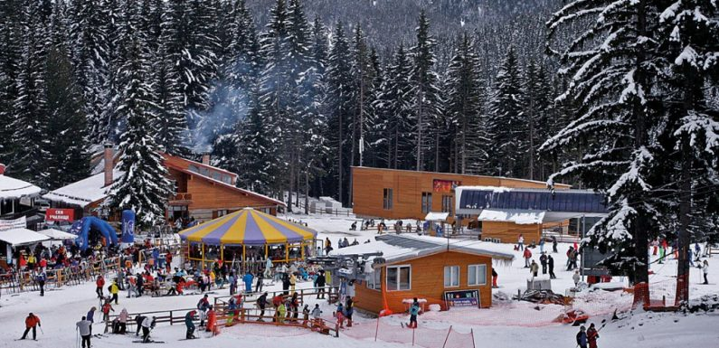 Explore the Pirin Mountains by visiting the incredible ski resort of Bansko!